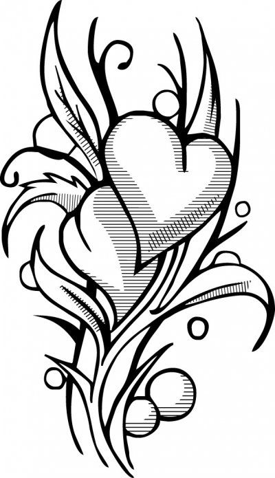 Love Coloring Pages For Teens