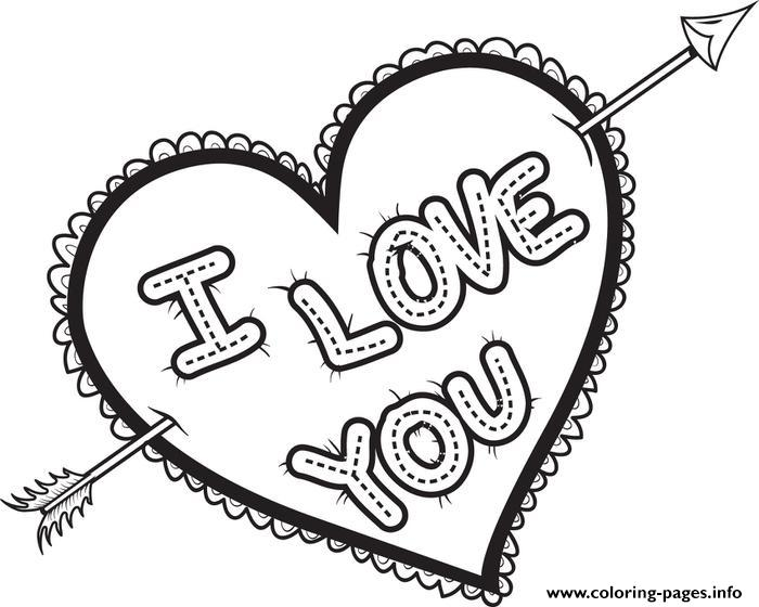 700x560 I Love U Coloring Pages I Love You Coloring Pages In Sweet Page