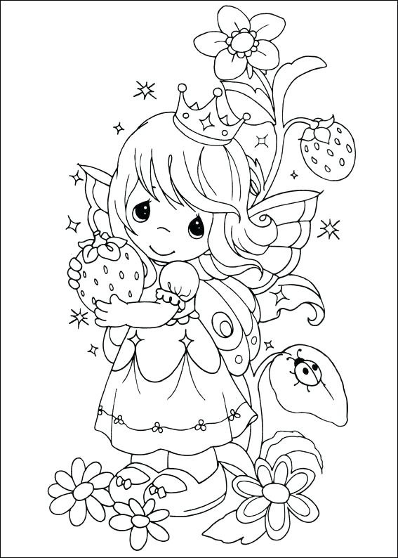 567x794 Precious Moments Printable Coloring Pages Precious Moments