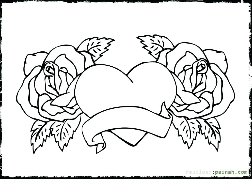 1024x728 Printable Love Coloring Pages Valentine Dog With Heart Coloring