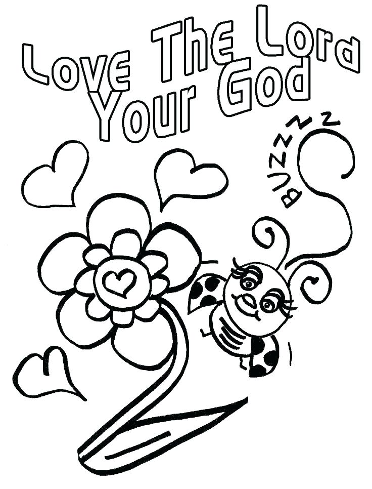 736x966 Love Bug Coloring Pages Love One Another Coloring Pages God Loves