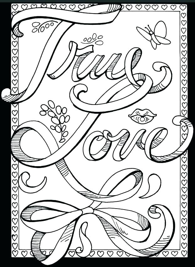 622x850 Love One Another Coloring Page Love Color Pages Best Love Coloring