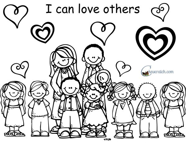 600x480 Love One Another Coloring Pages Love One Another Coloring Pages