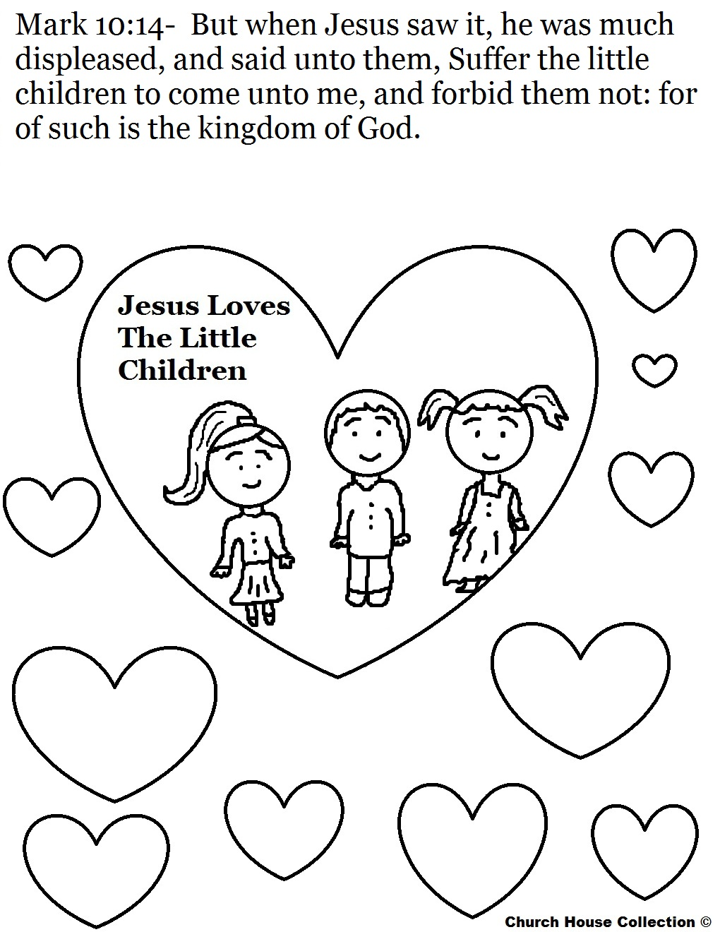 1020x1320 Love One Another Coloring Pages