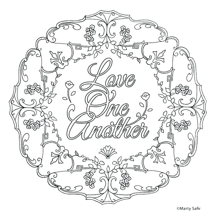 720x720 God Loves You Coloring Page Love One Another Coloring Pages Love