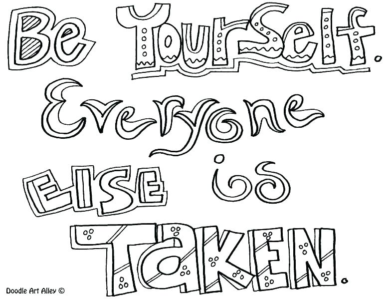 776x599 Love Quote Coloring Pages