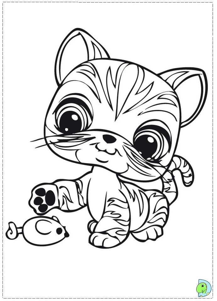 Lps Cat Coloring Pages At Getdrawings Com Free For Personal Use