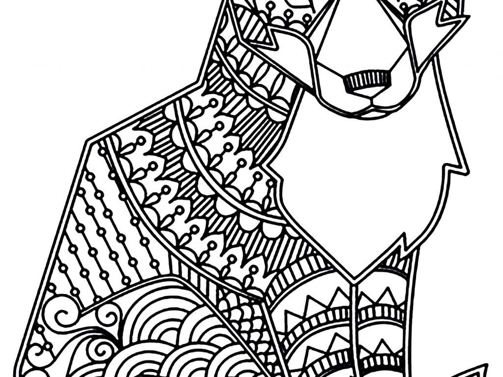 Lps Coloring Pages Fox