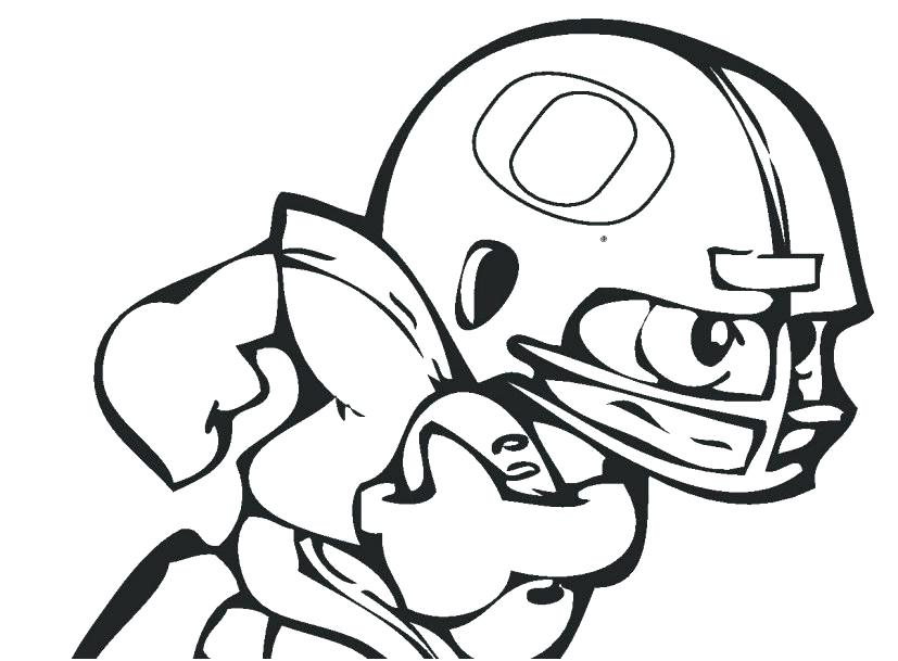 827x609 Lsu Football Coloring Pages
