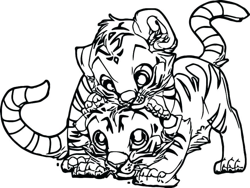 878x660 Tiger Color Page