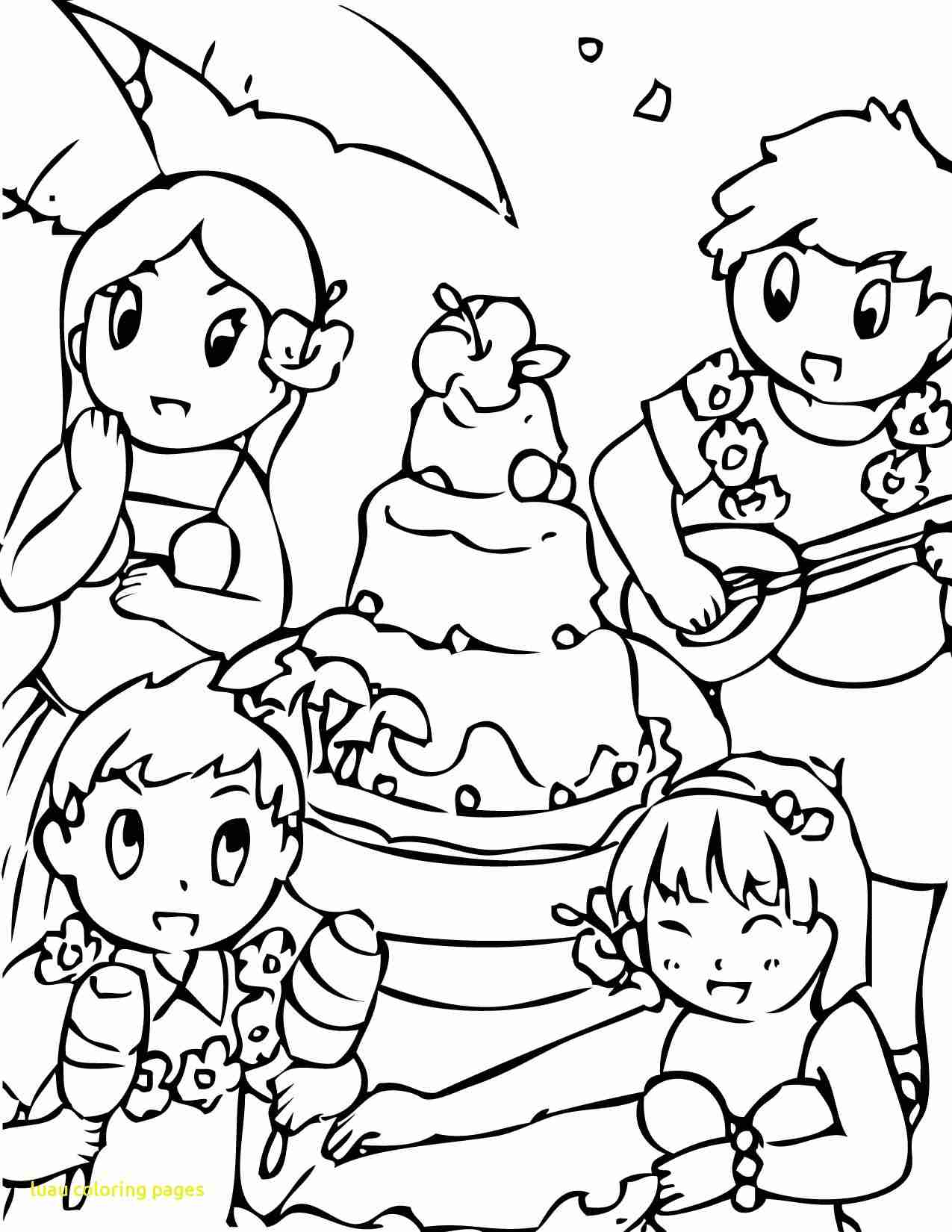 1275x1650 Luau Coloring Pages With Page Fun Stuff Within