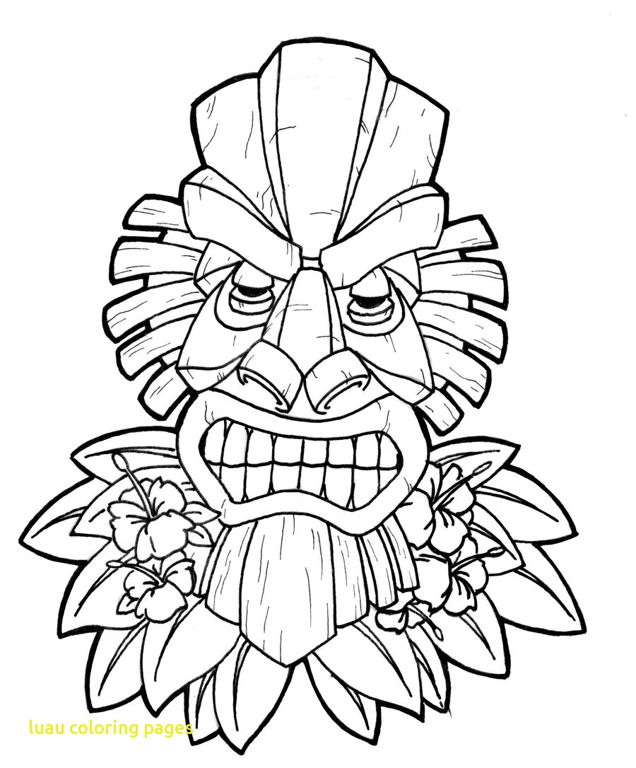 900x1086 Luau Coloring Pages With Luau Coloring Pages Coloring Pages