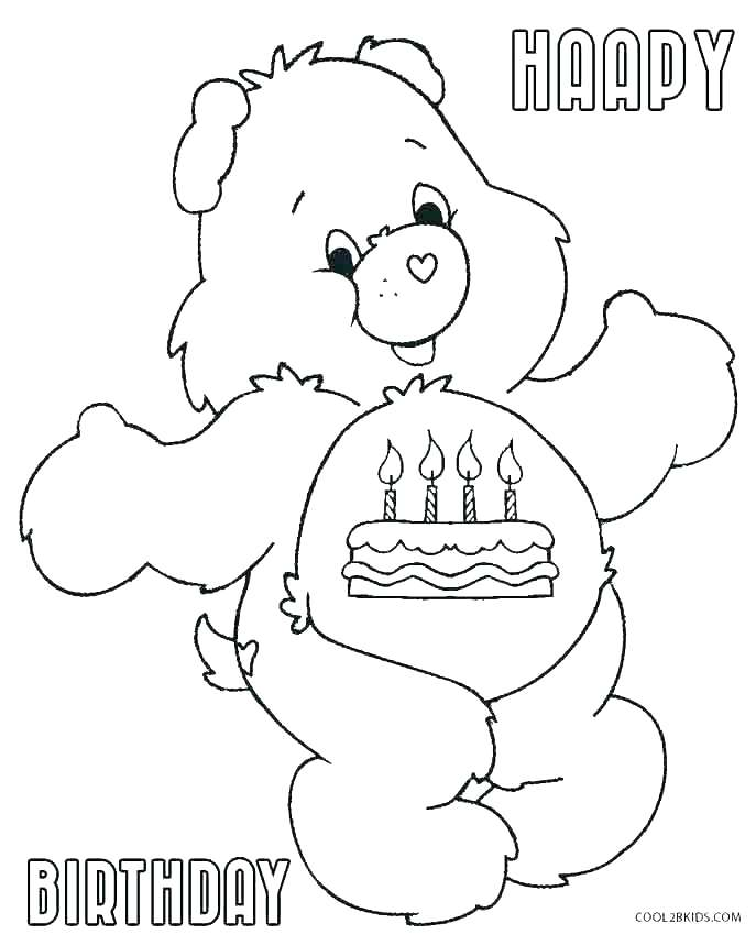 687x850 Care Bear Coloring Page Coloring Page Bear Coloring Page Of A Bear