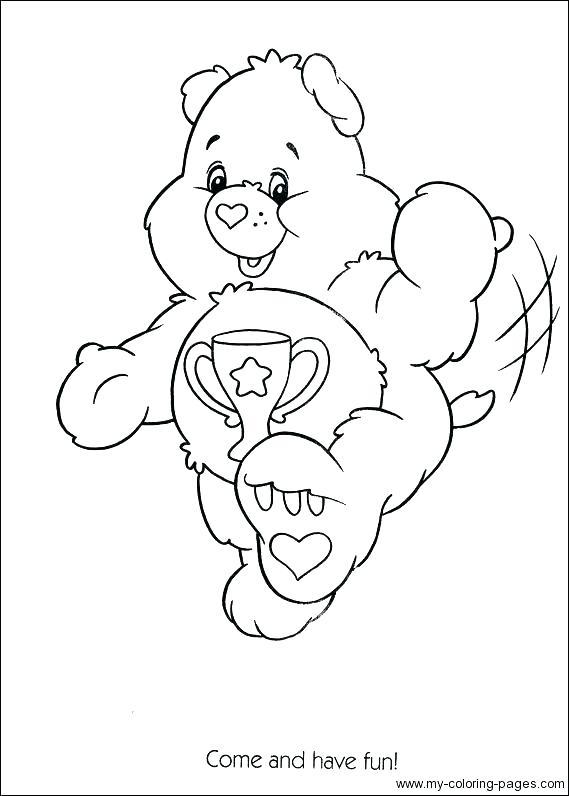 569x796 Care Bear Coloring Page Smokey Bear Coloring Pages Smokey