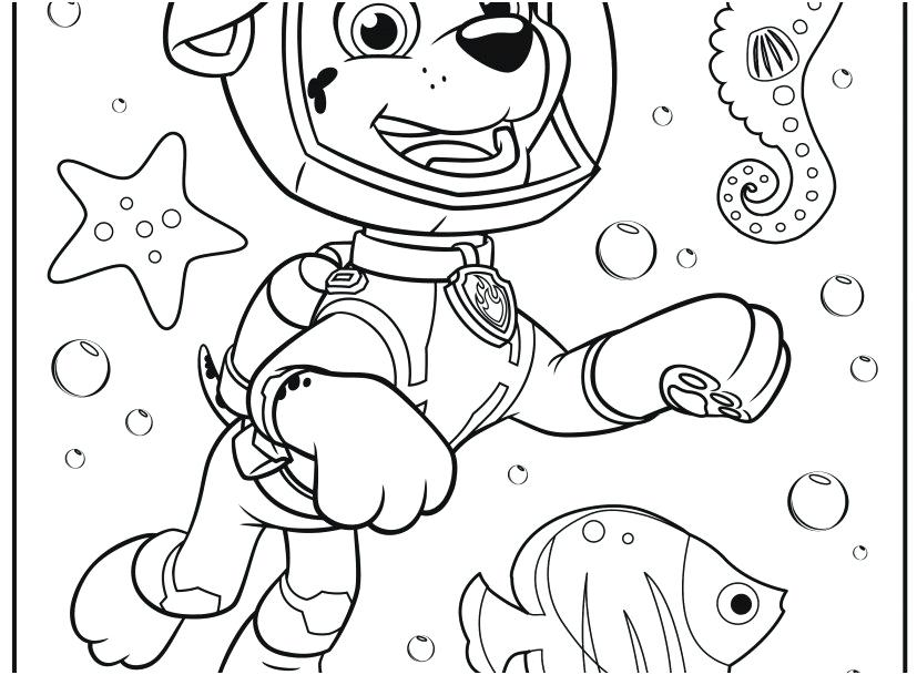 827x609 Paw Patrol Coloring Pages Robo Dog Paw Patrol Coloring Pages
