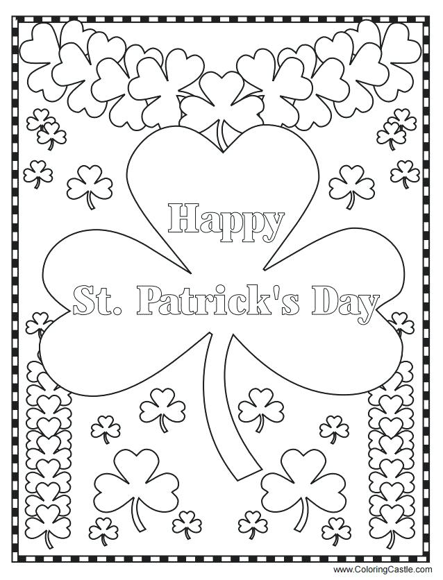 638x836 St Patricks Coloring Pages Leprechaun Coloring Page Lucky Charms