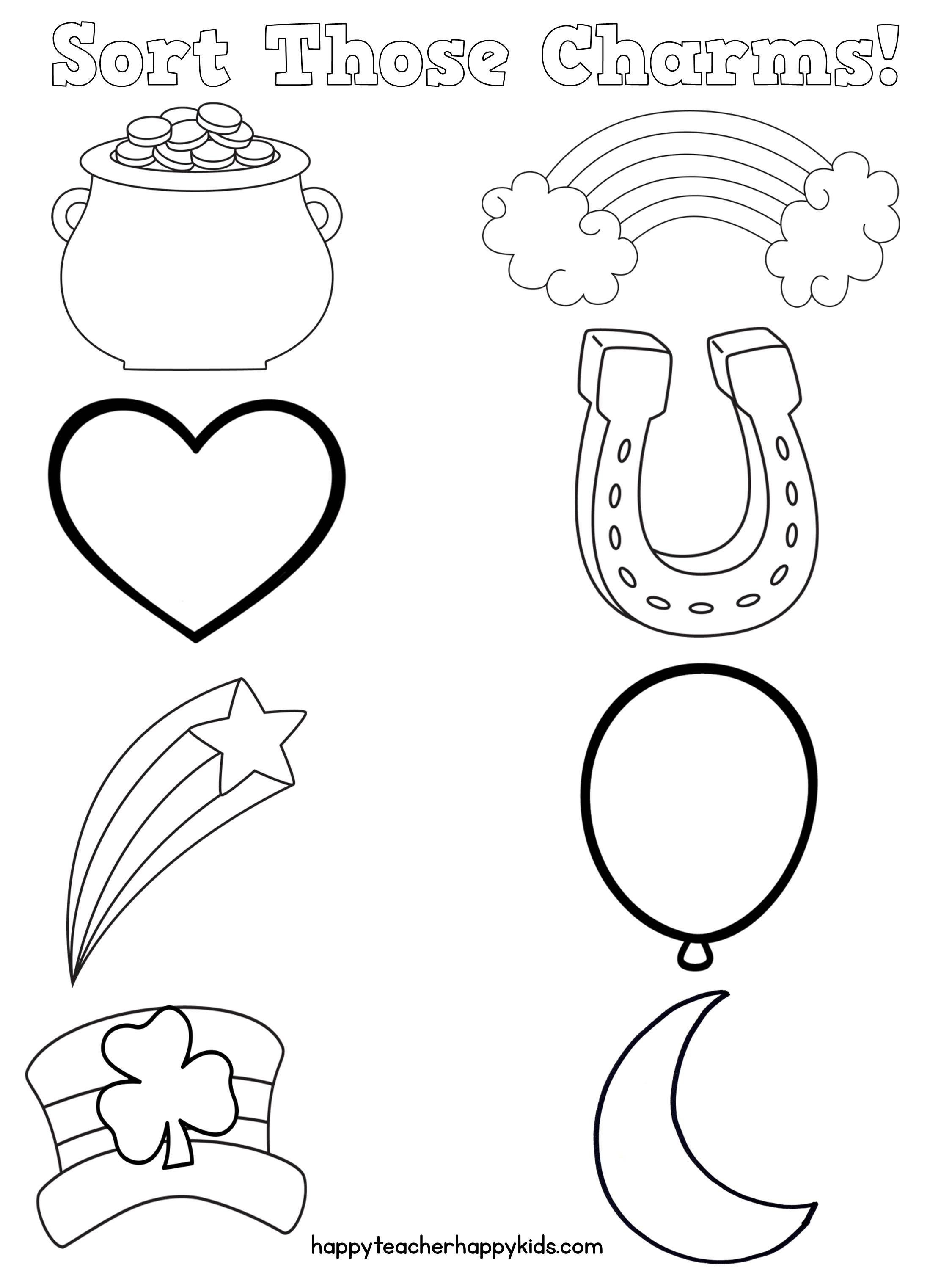 2250x3000 Unlock Lucky Charms Coloring Pages Free Math More Happy Teacher