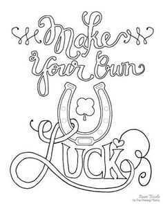 236x295 I Believe When You Aren't Feeling So Lucky You Make Your Own