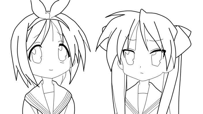 704x396 Lucky Star Coloring Page