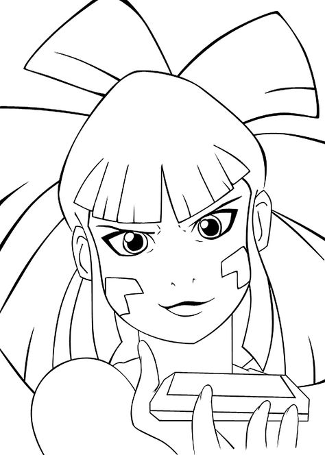 474x664 Lucky Star Coloring Pages