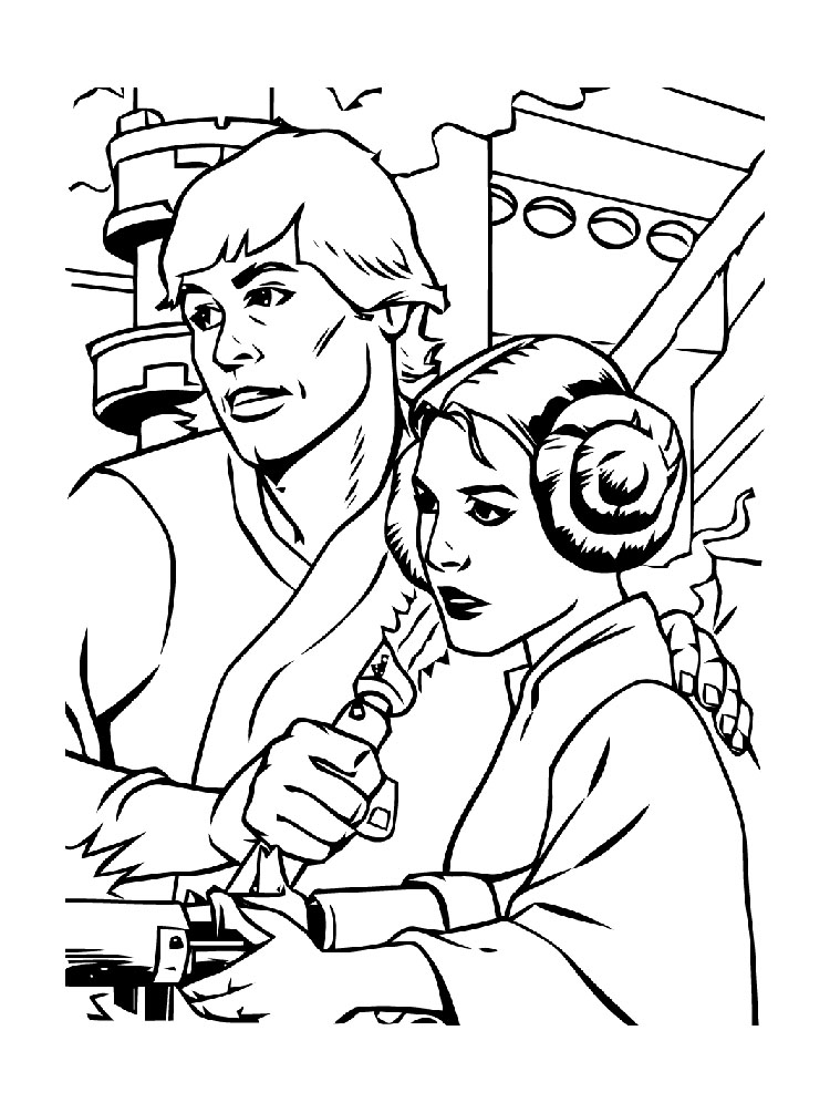 750x1005 Star Wars Coloring Pages!