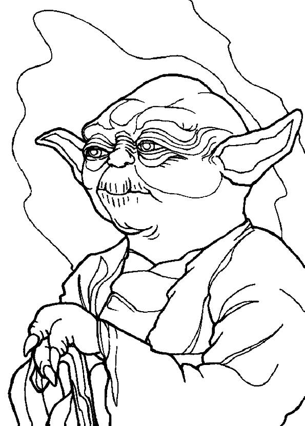 595x831 Luke Skywalker Coloring Pages