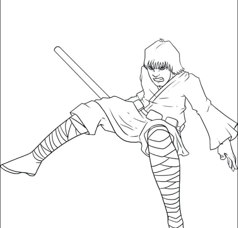 800x768 New Luke Skywalker Coloring Pages For Coloring Page Printable