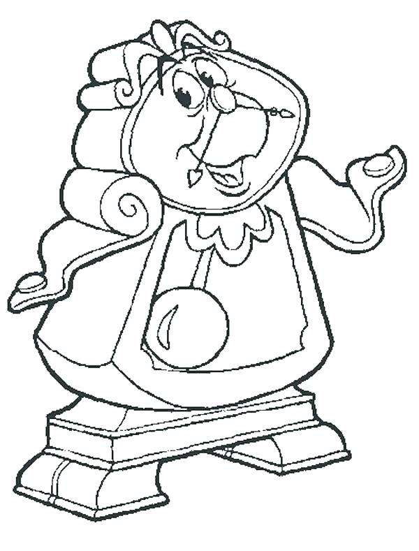 600x789 Coloring Pages Of Beauty And The Beast S Beauty And The Beast