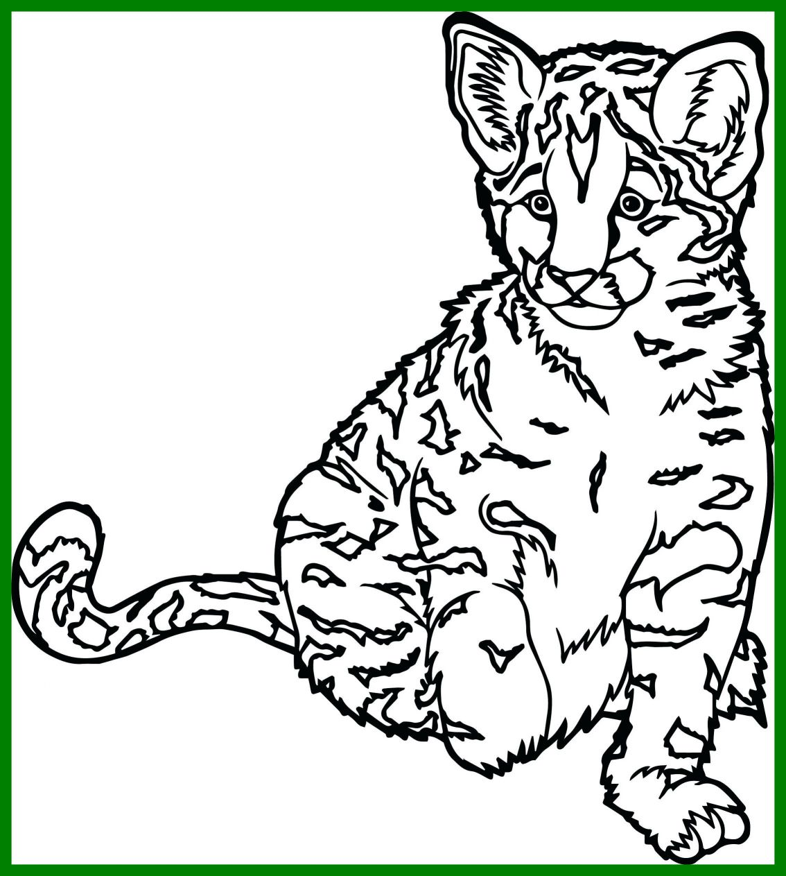 1134x1263 Fascinating New Lynx Coloring Pages Leri Co Picture For Cat