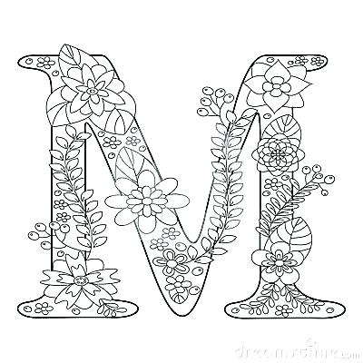 M Letter Coloring Pages at GetDrawings com | Free for