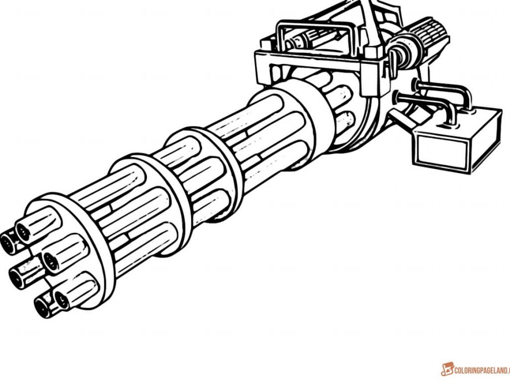 1024x768 Charming Decoration Gun Coloring Pages Gun Coloring Pages Guns