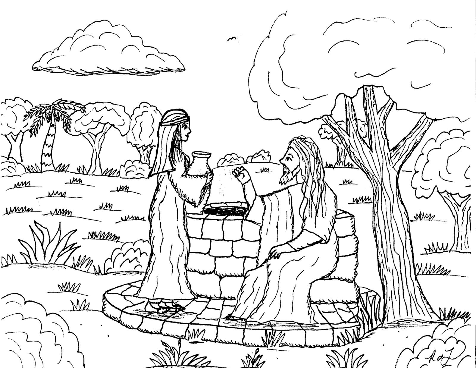 1600x1237 Robin's Great Coloring Pages Woman