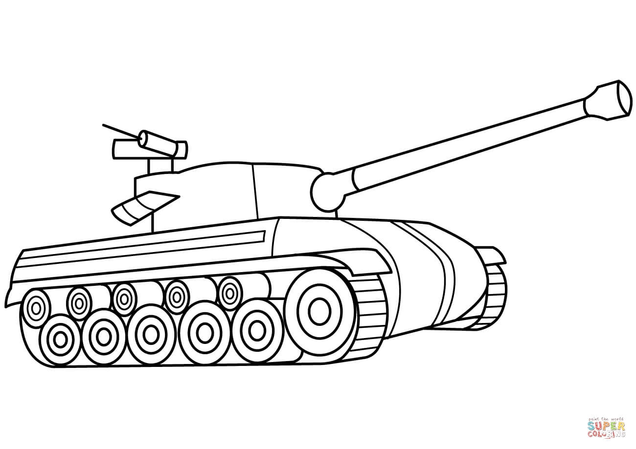 1300x919 Tank Coloring Pages Unique Sherman Army Tank Coloring Page Free