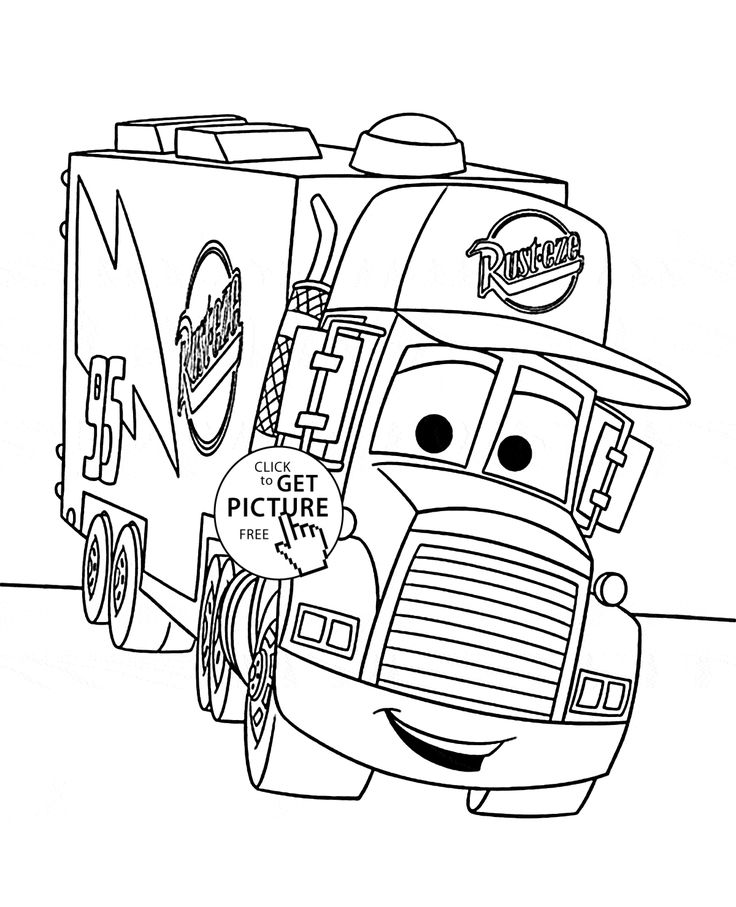 Mack Coloring Pages