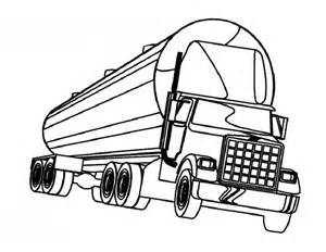 Mack Truck Coloring Pages