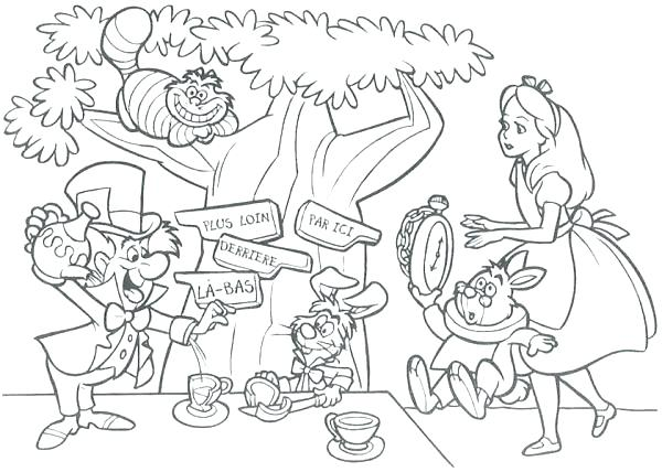 600x428 Party Coloring Pages