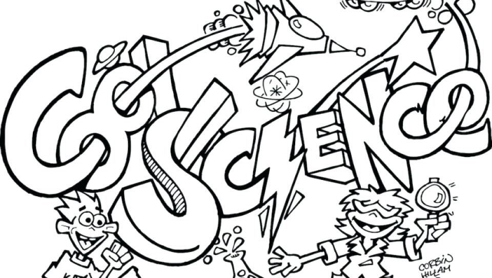 960x544 Mad Scientist Coloring Page Scientists Worksheets And Within Pages
