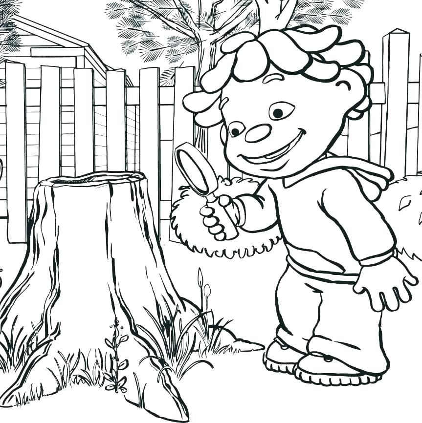 863x866 Scientist Coloring Page Scientist Coloring Page Science Coloring