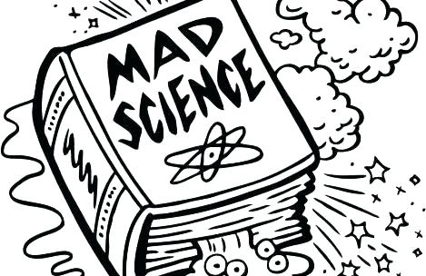469x304 Scientist Coloring Pages Lab Coloring Pages Science Mad Science