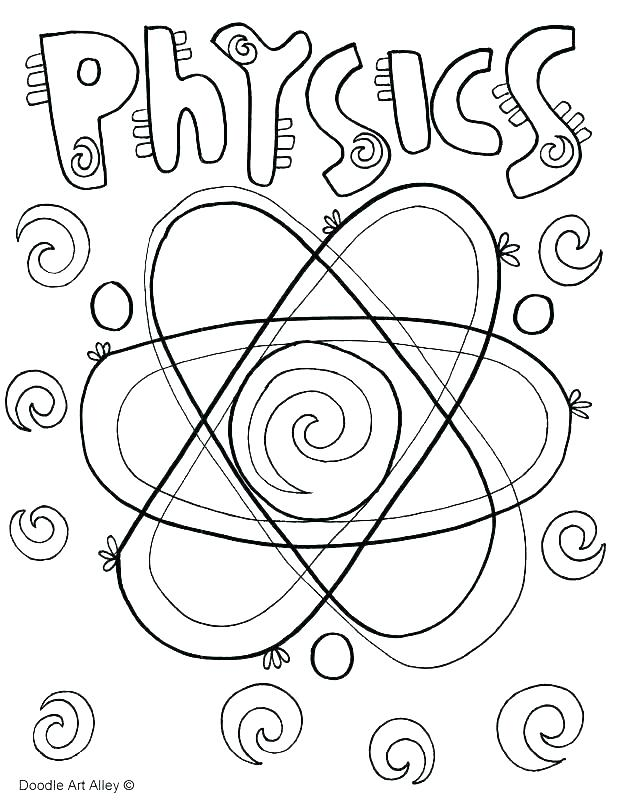 618x800 Mad Science Coloring Pages Chemistry Coloring Page Scientist