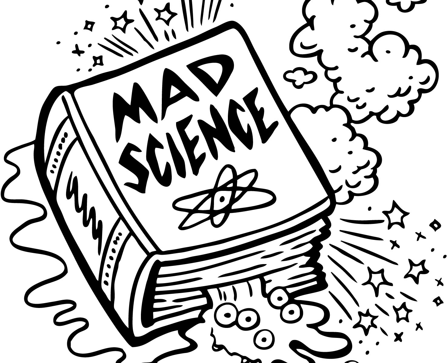 1475x1200 Scientist Coloring Pages Free Mad Wonderful Science Colouring