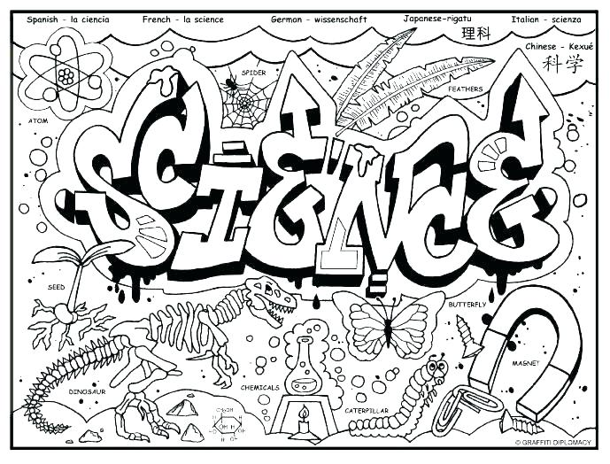 689x524 Scientist Coloring Pages Scientist Coloring Page Science Coloring