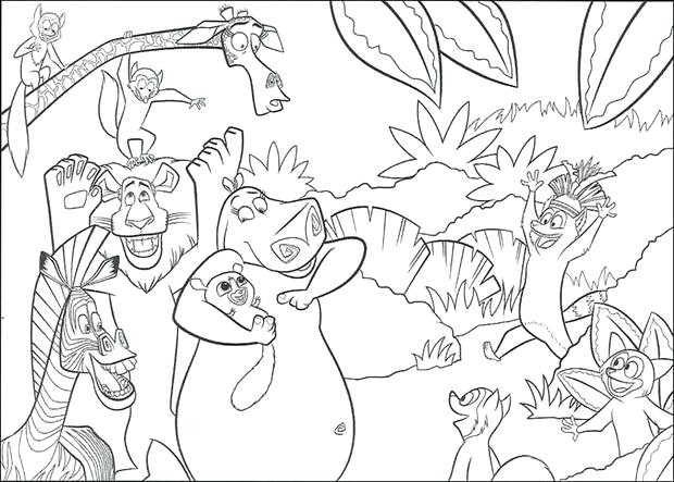 620x443 Madagascar Coloring Pages Beautiful Coloring Pages About Remodel