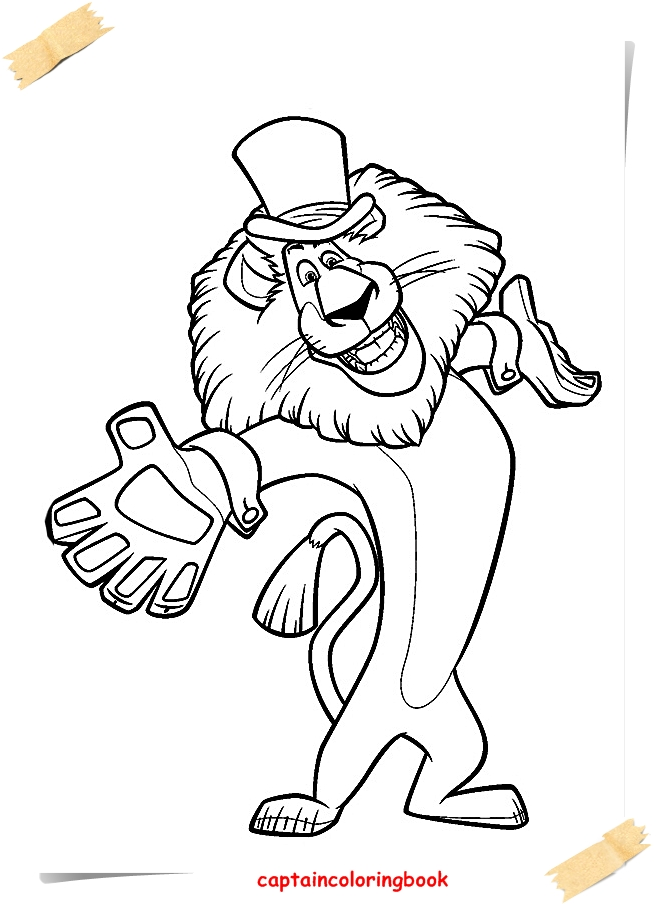 656x904 Madagascar Coloring Pages Free Ebook
