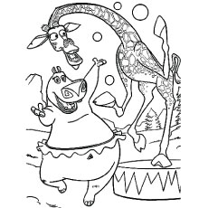 230x230 Top Free Printable Madagascar Coloring Pages Online Madagascar