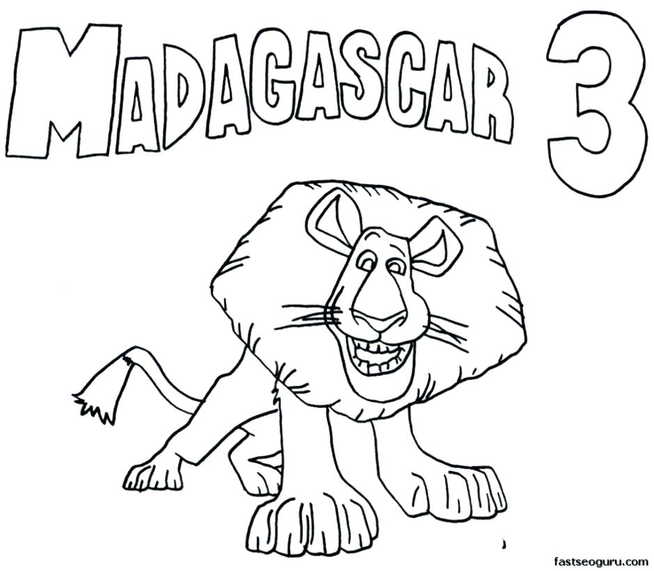 940x820 The Penguins Of Madagascar Coloring Pages