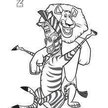 220x220 Madagascar Coloring Pages