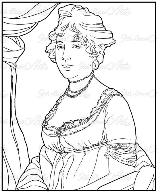 550x672 First Lady Coloring Pages Coloring Page