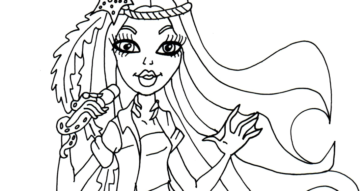 1200x630 Free Printable Monster High Coloring Pages Madison Fear Monster