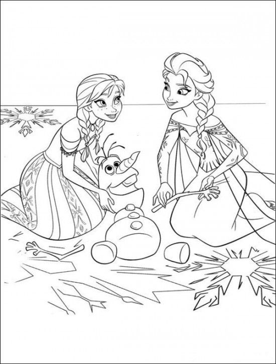 550x727 Lisa Pomroy Mceachern These Are Free Frozen Colouring